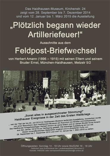Erster Weltkrieg Haidhausen