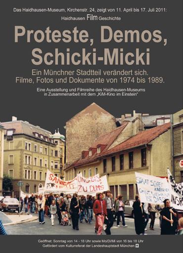 Proteste, Demos, Schicki-Micki